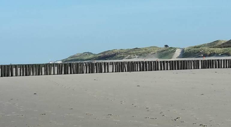 Nu nog een leeg strand, hoe ziet dat er volgende week uit?